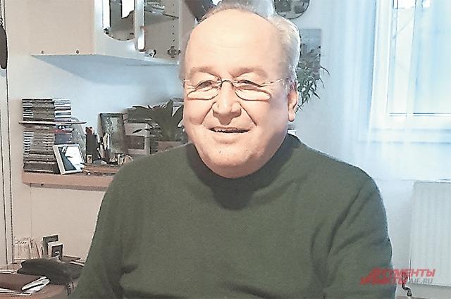 Герхард Вероста обнаружил, что он наполовину русский, лишь в 58 лет.