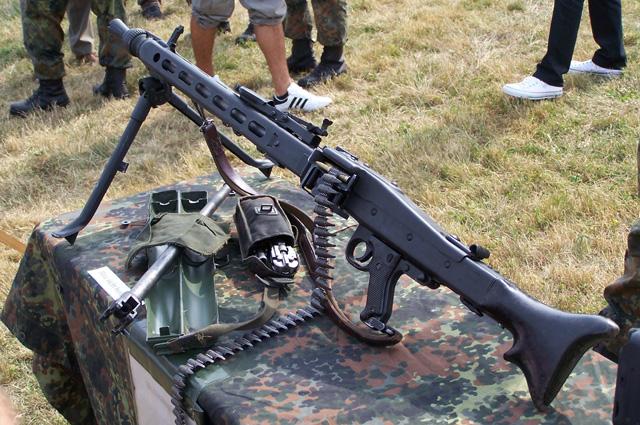 Пулемет MG3.