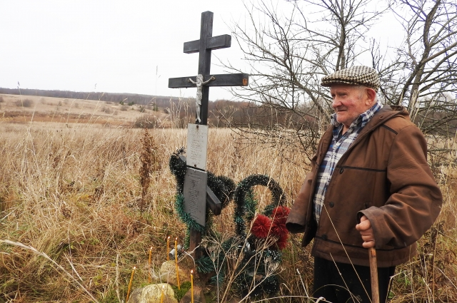 Е.И. Балакирев помог найти памятный крест