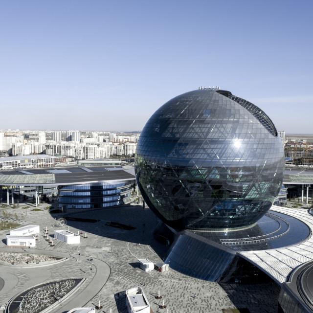 Международный финансовый центр «Астана» работает с 2018 года.