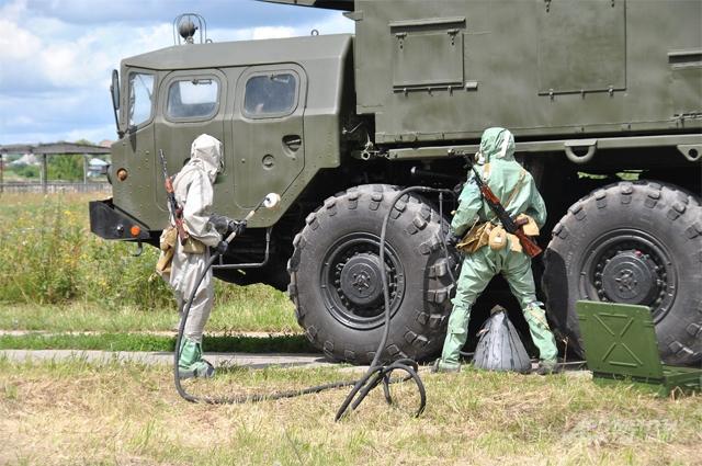 Дегазация машины обеспечения боевого дежурства