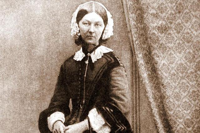 Флоренс Найтингейл. 1858 год.