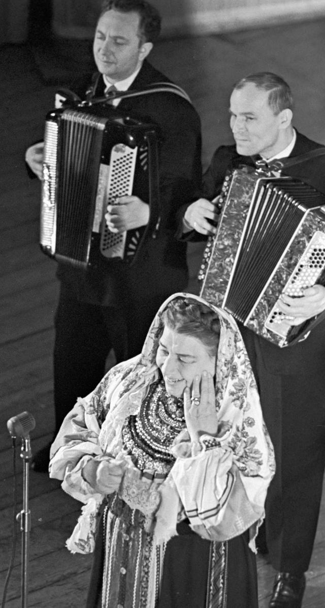 Лидия Русланова. 1963 год.