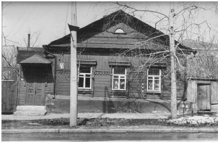 Здание в конце 80-х