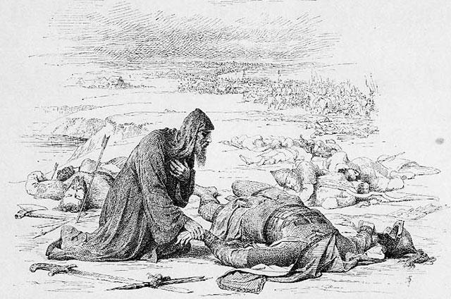 Великий князь Владимирский Юрий Всеволодович, павший в сражении на реке Сити.