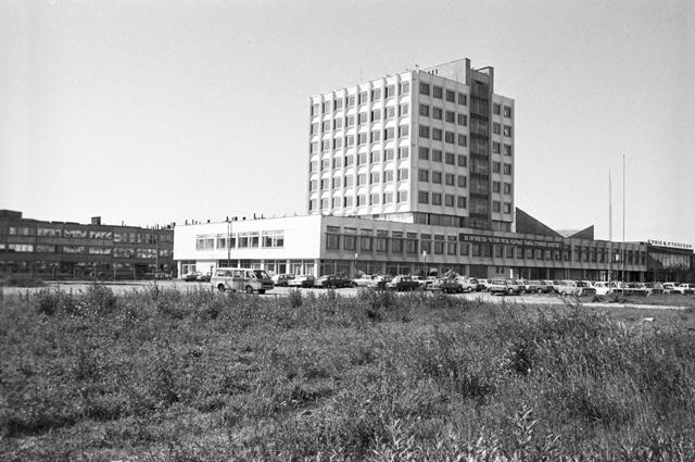 атвийская ССР. Завод по производству микроавтобусов