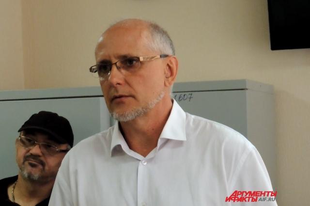 Бывший руководитель «Волгоградского областного патологоанатомического бюро» Вадим Колченко.