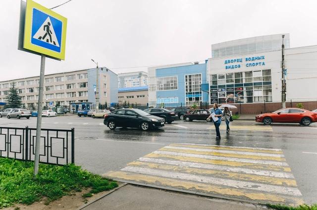 Переход на оживленном проспекте Гагарина вскоре оборудуют светофором со звуковым сигналом.