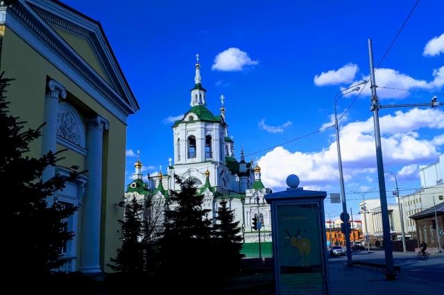 Спасская церковь, Тюмень.
