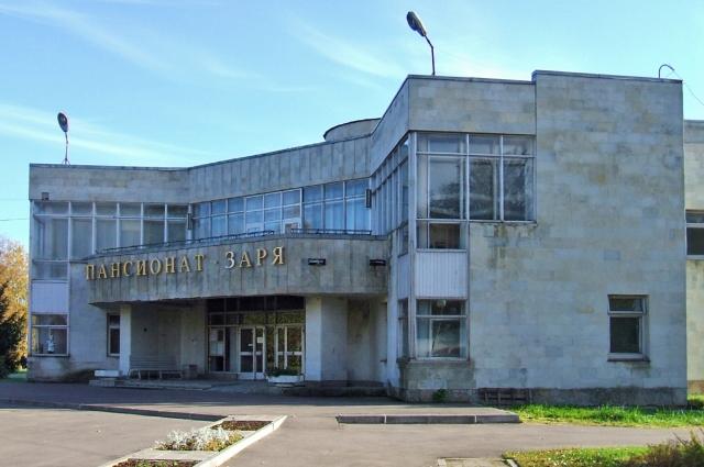 В пансионате «Заря» открыто временное инфекционное отделение Городской больницы № 40.