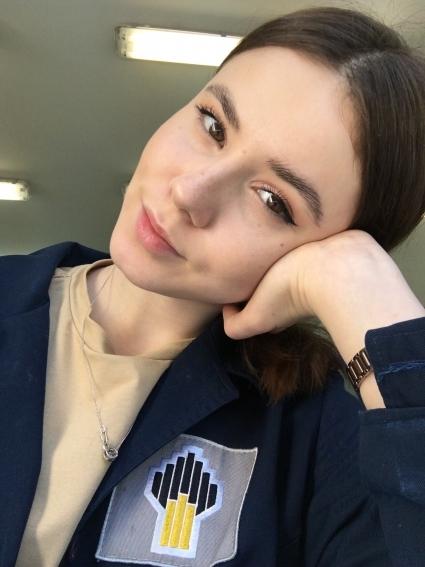 В начале лета успешно прошла производственную практику студентка 3-го курса Уфимского государственного технического университета Анна Копытова.