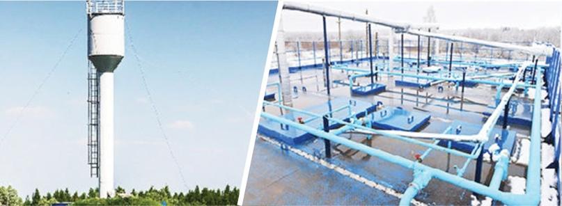 За два года на Брянщине появилось 13 объектов: четыре артезианские скважины, пять насосных станций, два резервуара чистой воды, две водонапорные башни.