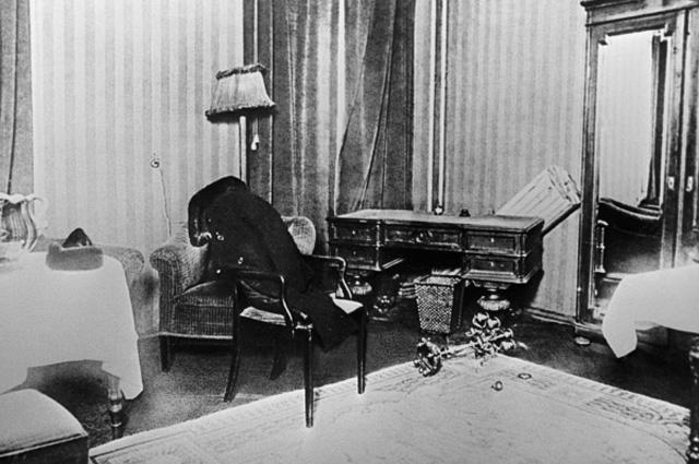 Комната № 5 в гостинице «Англетер». 29 декабря 1925 года