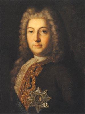 Андрей Остерман, состоявший в Верховном тайном совете, умело вёл игру при царском дворе.