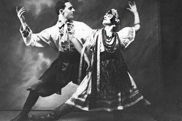 Пётр Лещенко и Зинаида Закитт, 1929 г.