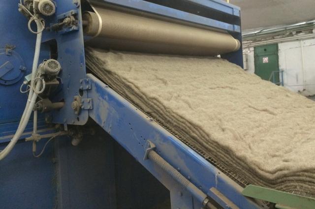 Производство утеплителя из льна