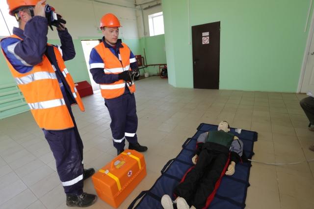 Один из этапов – оказание первой медицинской помощи.