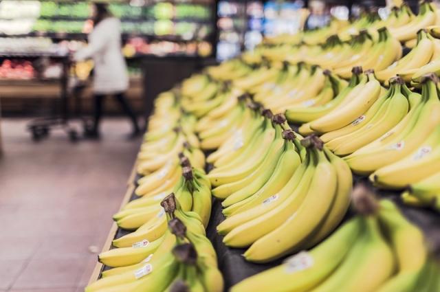 Бананы подарят заряд энергии.