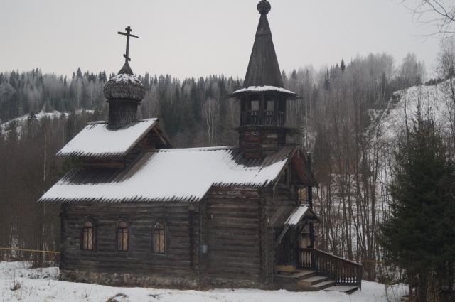 В этнографический парке истории реки Чусовой экспонаты можно брать в руки.