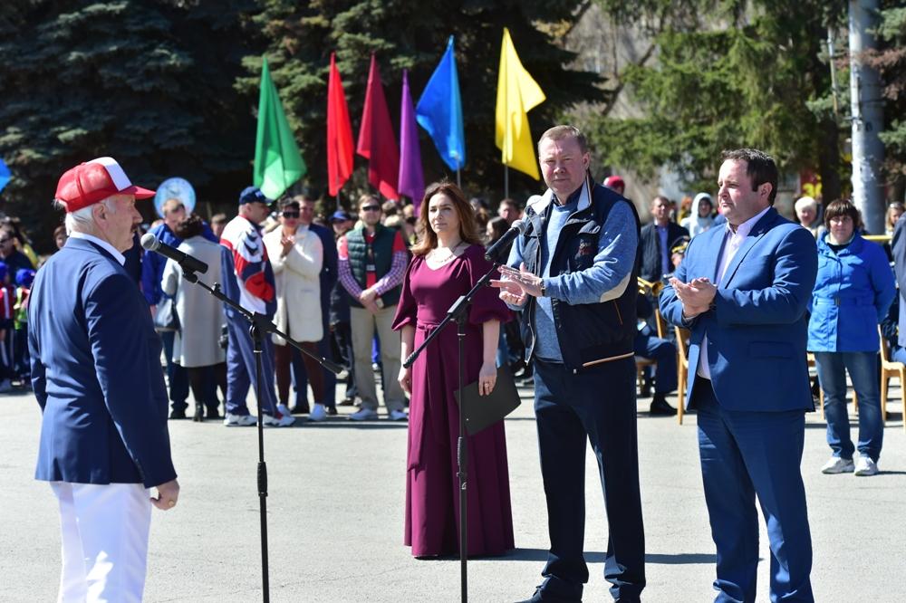 Традиционная эстафета прошла в 70-й раз и стала юбилейной.