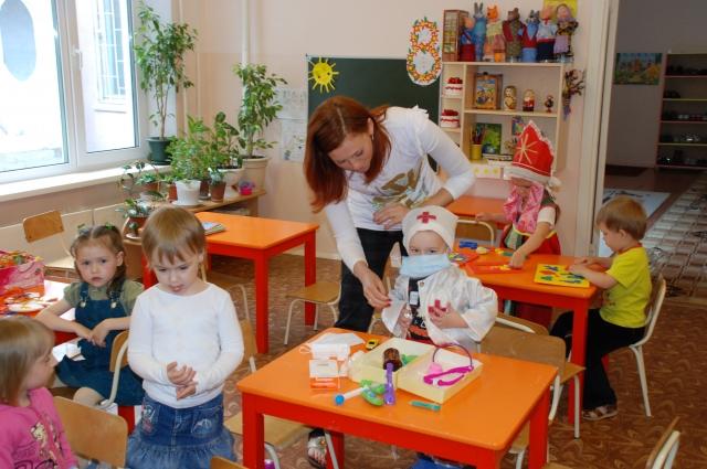 В Омске не хватает детских садов.