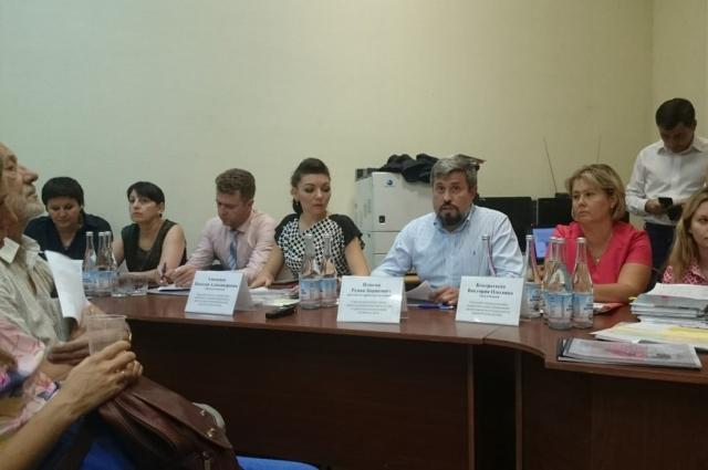 общественные слушания по проекту нового микрорайона«ЮСИ»