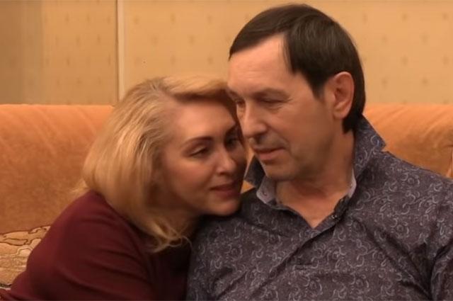 Николай Носков с супругой Мариной.