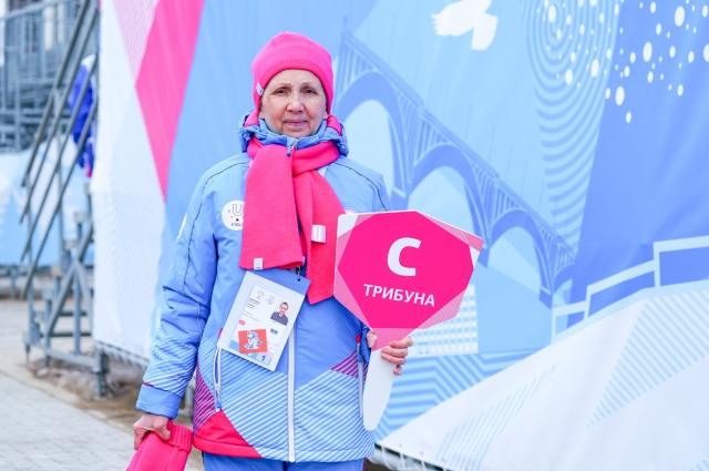 Людмила Дапкунене говорит, что на улице работать ей лучше.