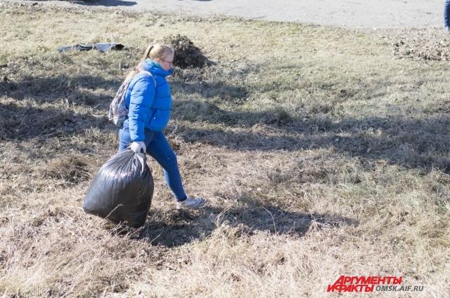 Омские студенты активно развивают экодвижение в городе.