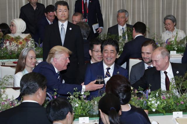 На саммите G20.