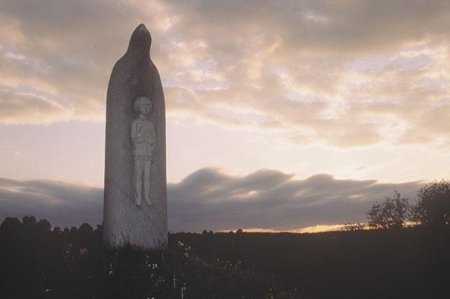 Памятник Сергию Радонежскому. Скульптор - Вячеслав Клыков. Село Радонеж.