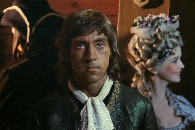Фильм «Сказ про то, как царь Пётр арапа женил», 1976 год.