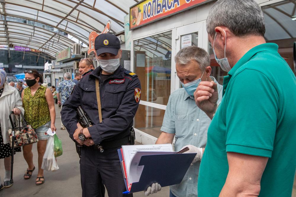 В рейдах помогает полиция.