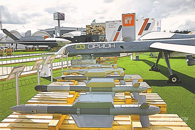 Оружие для беспилотников – управляемыеи неуправляемые авиабомбы.