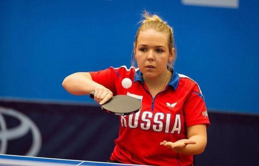 Псковская теннисистка Александра Васильева