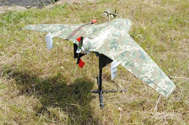 Беспилотный летающий аппарат Элерон-3