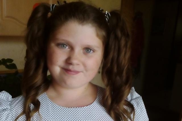 Участница конкурса Дарья.