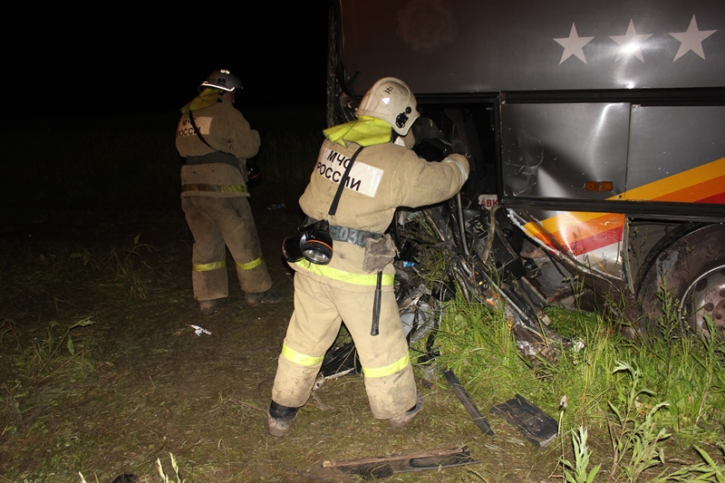 Пострадали два пассажира автобуса