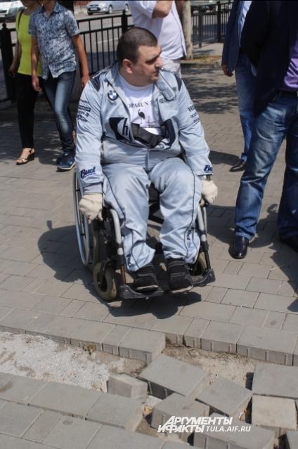 Нет, наши дороги не для колясок создавались.