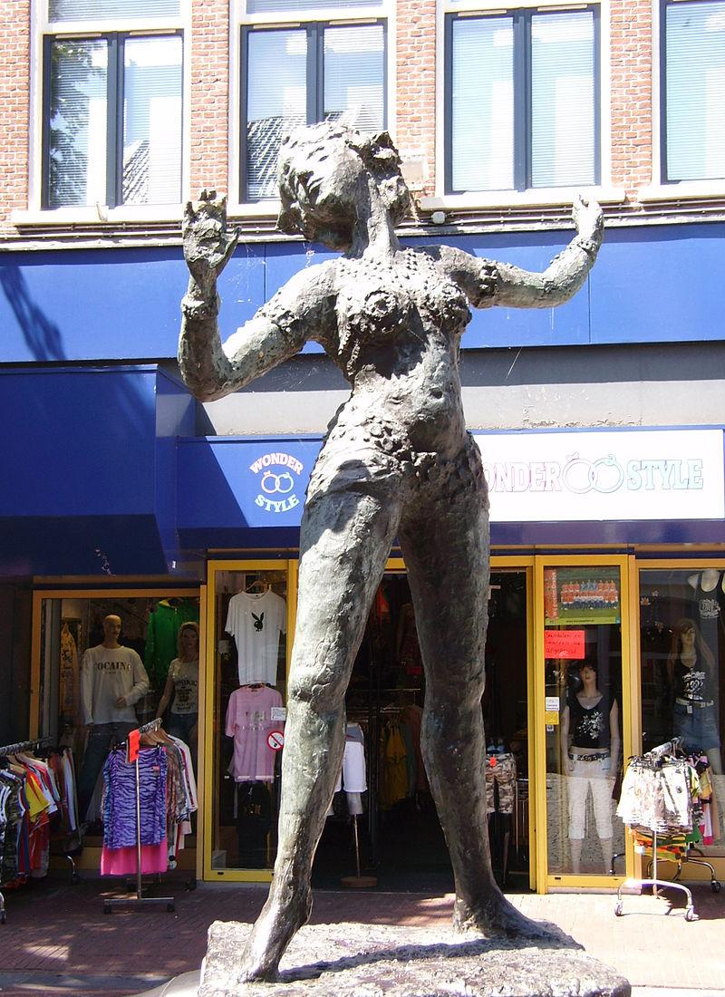 Скульптура Маты Хари в Леувардене