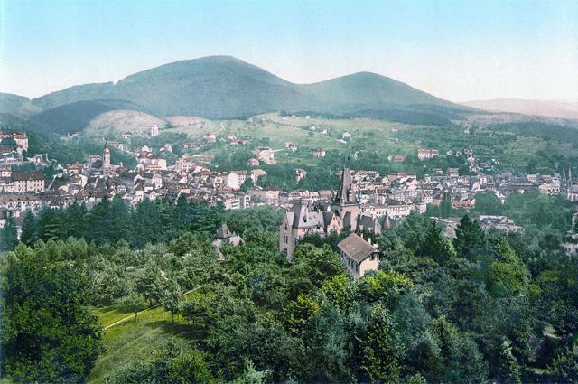 Баден-Баден, 1900 год