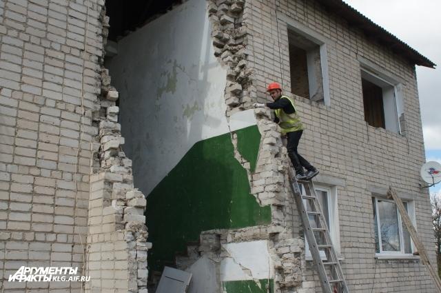 Эксперты решили, что дом можно будет восстановить.