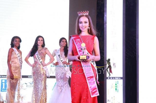 Кристина заняла второе место в категории «Юные».