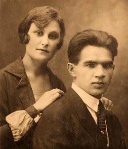 Василий Иванович и Валентина Петровна Чуйковы, 1926 год.