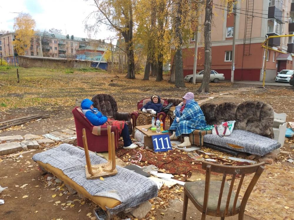 Вот так живут люди в Альметьевске, не согласные с программой расселения.