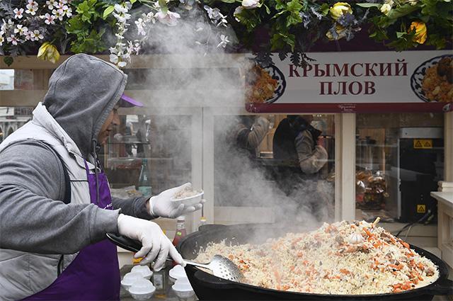 Фестиваль «Крымская весна» в Москве.