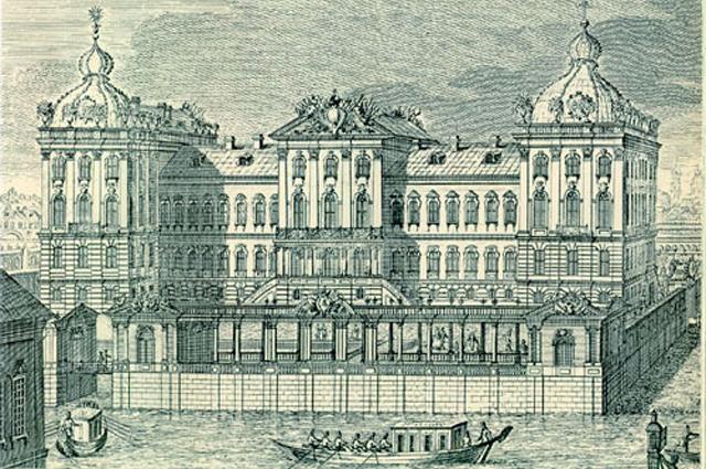 Аничков дворец в Петербурге был подарен «ночному императору» Елизаветой Петровной.