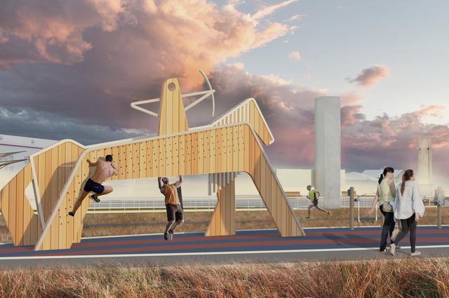 Автор проекта вдохновился национальной культурой якутов.