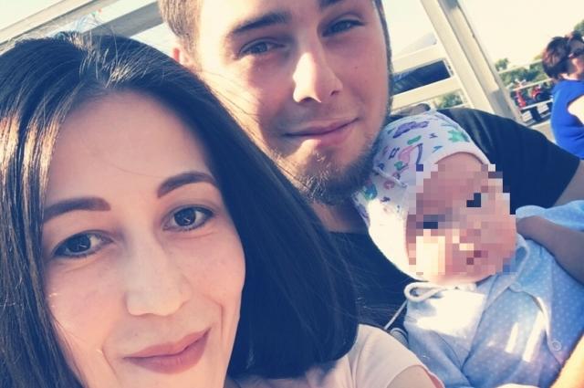 Дмитрий Рубинштейн с семьёй.