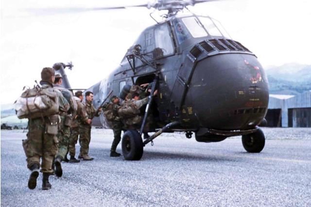 Спецназ в Алжире.